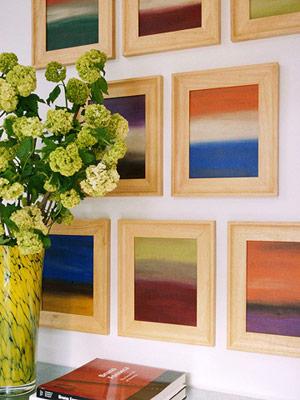 Giải pháp trang trí nội thất cho tường nhà 2