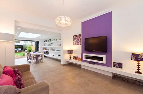 Màu sắc và nội thất là 2 yếu tố quan trọng trong việc thiết kế nhà