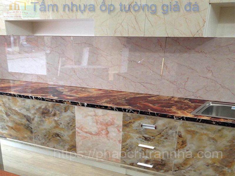 Báo giá tấm nhựa ốp tường giả đá tại TPHCM, Hà Nội